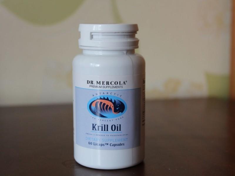 닥터머콜라 크릴오일 오메가3-Dr. Mercola, Krill Oil, 60 Licaps Capsules