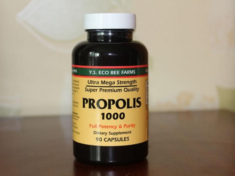 아이허브 프로폴리스-Y.S. Eco Bee Farms, Propolis 1000, 90 Capsules