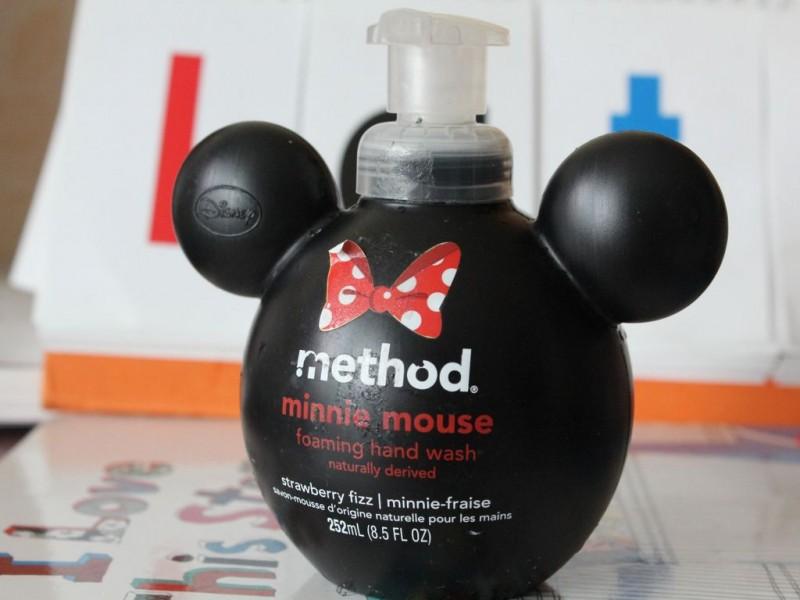 메쏘드 미니마우스 물비누-Method, Minnie Mouse Foaming Hand Wash, Strawberry Fizz, 8.5 fl oz (252 ml)
